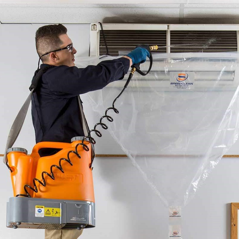 hvac maintenance and service including clean air heat pump deep cleaning